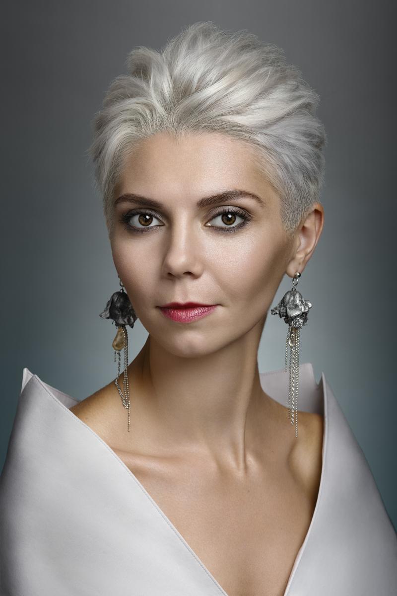 Татьяна. Белый портрет