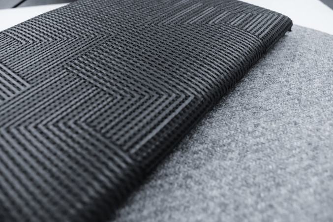 LUXURY TEXTILES IN WOOL FOR MODERN ARCHITECTURE