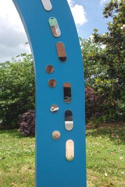 Greensboro Childrens Museum Brad Oldham Sculpture Infinite Welcome_ABD6264