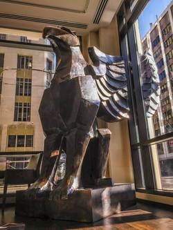 Brad Oldham Sculpture Griffin Bronze  (28)