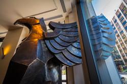Brad Oldham Sculpture Griffin Bronze  (18)