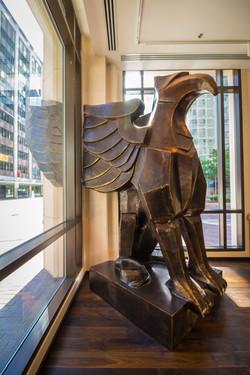 Brad Oldham Sculpture Griffin Bronze  (7)