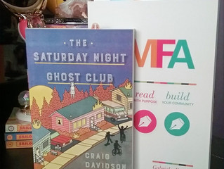 Reading Challenge: The Saturday Night Ghost Club