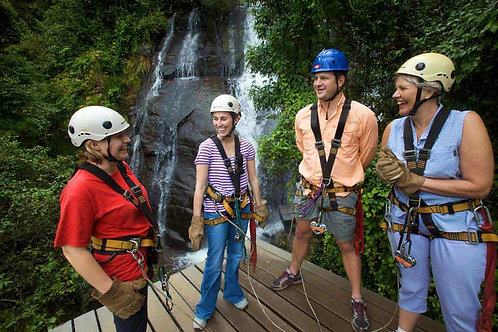 Cape canopy tour with transport for 2 people