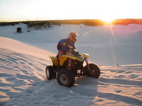 Dune quad bike tour