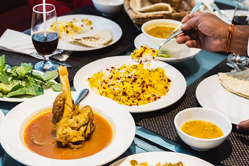 Cape Malay dining experience at a local family