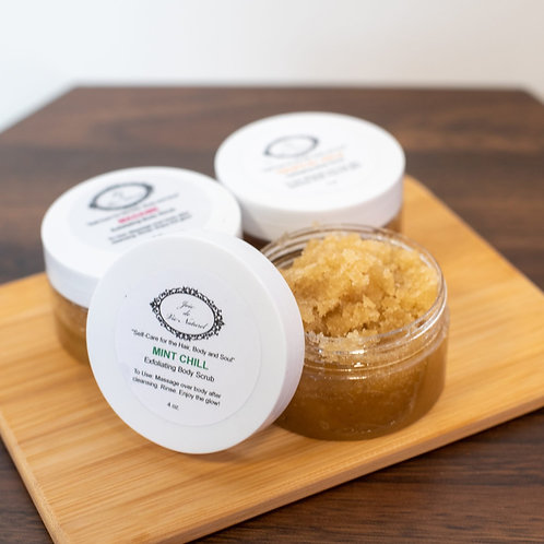 Mint Chill Brown Sugar Body Scrub