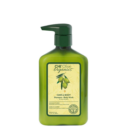 CHI Olive Organics Olive & Silk Shampoo and Body Wash