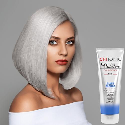 CHI Ionic Color Illuminate- Silver Blonde Conditioner