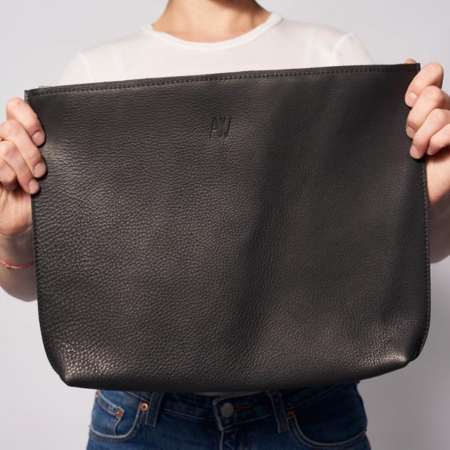 Schwarzweiß Laptoptasche