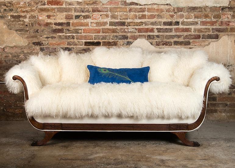 Re-Imagined Duncan Phyfe Sofa