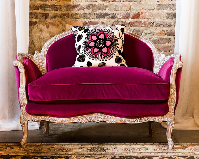 Pink Passion Settee