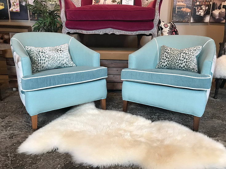 Teal Magnolia Chairs