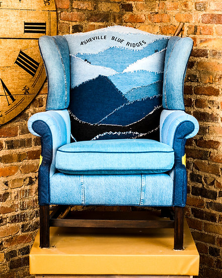 Blue Ridge Chair Collection - Wing Chair