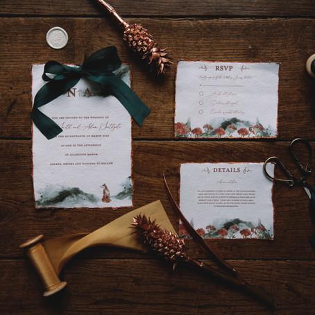 Boho Weddings - 'Emerald Dreams' Emma- Jane Photography