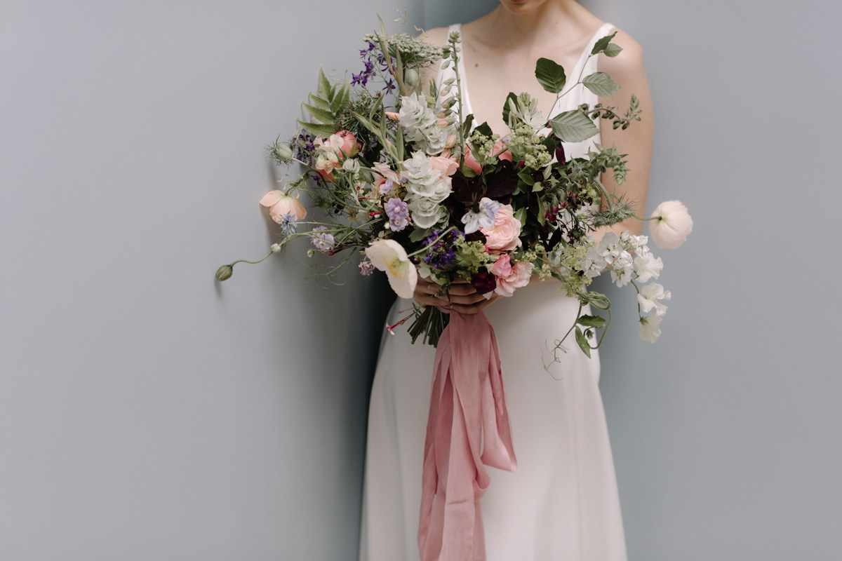 British Flower Week inspired shoot