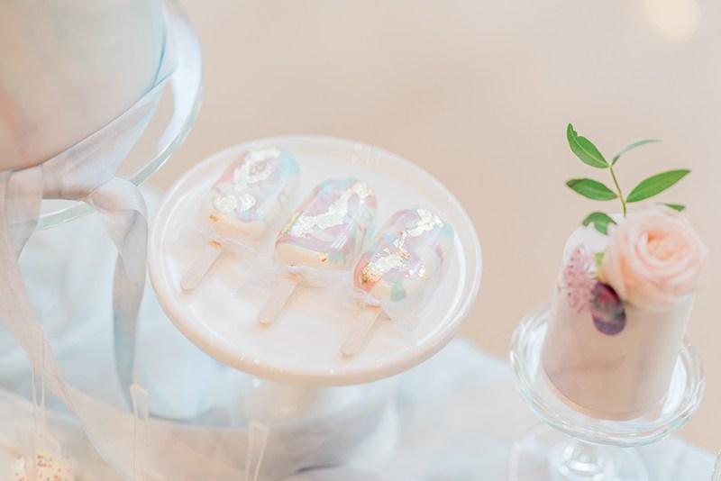 Pastel-Luminescent-Wedding-Dessert-Table