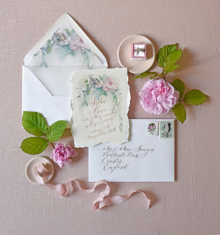 Stationery By Moon & Tide and Amy Swann