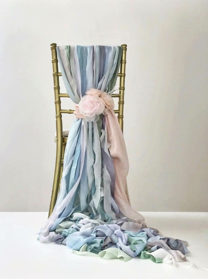 Chair Decor for Brides Magazine