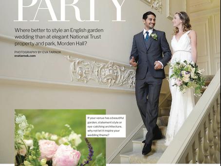 Wedding Ideas Magazine- Garden Party editorial with Eva Tarnok Photography