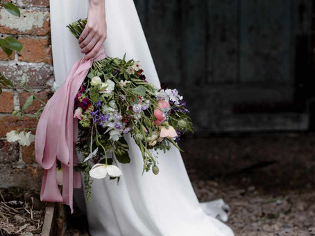 Love My Dress and British Flower Week with Rebecca Goddard Photography