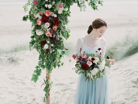 Bajan Wed - Shakespearean Coastal Editorial with Julie Michaelsen Photography