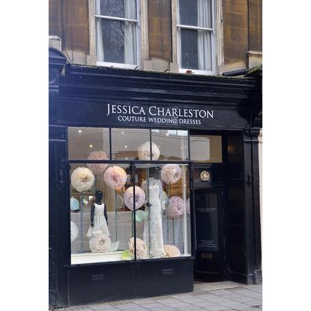 Jessica Charleston Couture Window Display