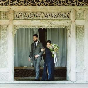 Green Wedding Shoes- real wedding - Trisha and Sid in Bali