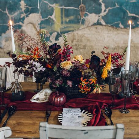Green Wedding Shoes - Tim Burton Inspired Editorial at The Asylum