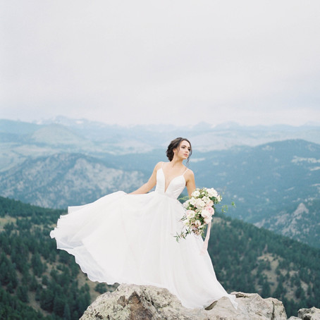 Bajan Wed- Colorado Bridal Inspiration with Amanda Berube Photography