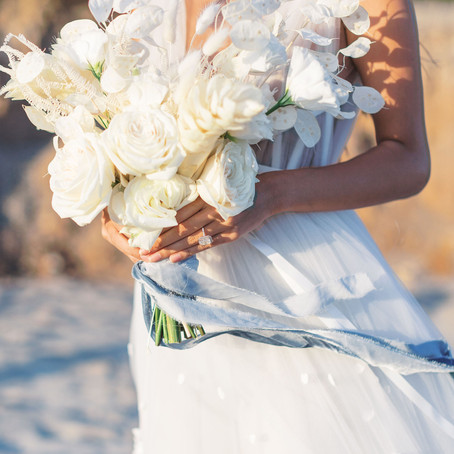 Bridal Musings -Malibu Beach Editorial with Photography by Courage & Dash