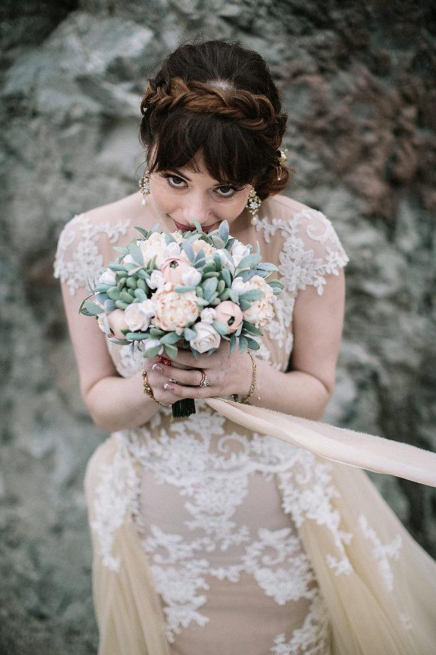 A Practical Wedding' Real Wedding Arielle & David | Silk