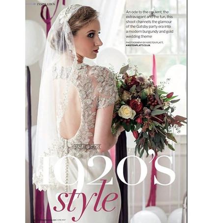 Wedding ideas Magazine- June 2017,  with Kirsten Platt Photography