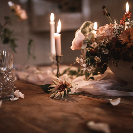 Rock my Wedding - Autumnal Editorial with photography by Benjamin Wheeler
