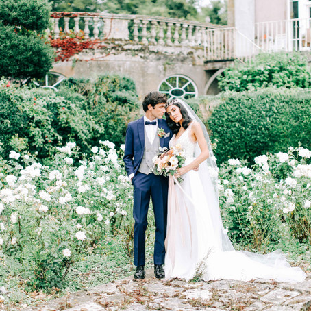 English Wedding Blog - French inspired floral Editorial with Charlotte Wise Photography