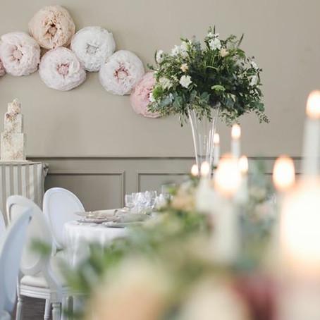 "Wedding Magazine Feb 2016 - ""Classic Romance"" Editorial with Weddings by Nicola and Glen a"