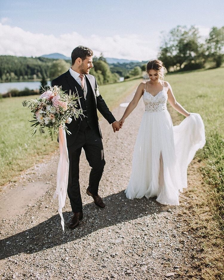 Kevin Volland and Katja's wedding