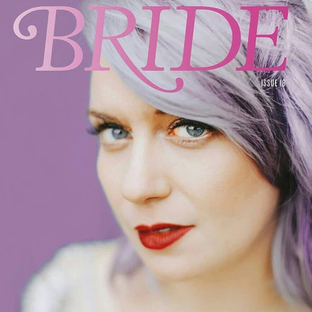 Rock' n' Roll Bride Magazine - real wedding Sophie and Gareth , with photography by Lisa Dev