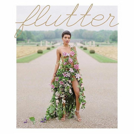 Flutter Magazine Issue 15 Irish Heirloom Editorial with Pamela Barefoot Events