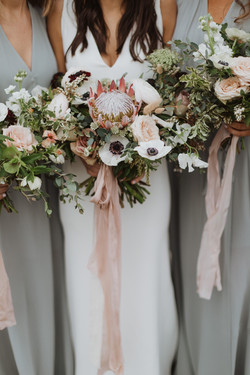 Almond Blush silk ribbon