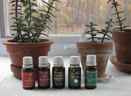 Essential Oils for Living