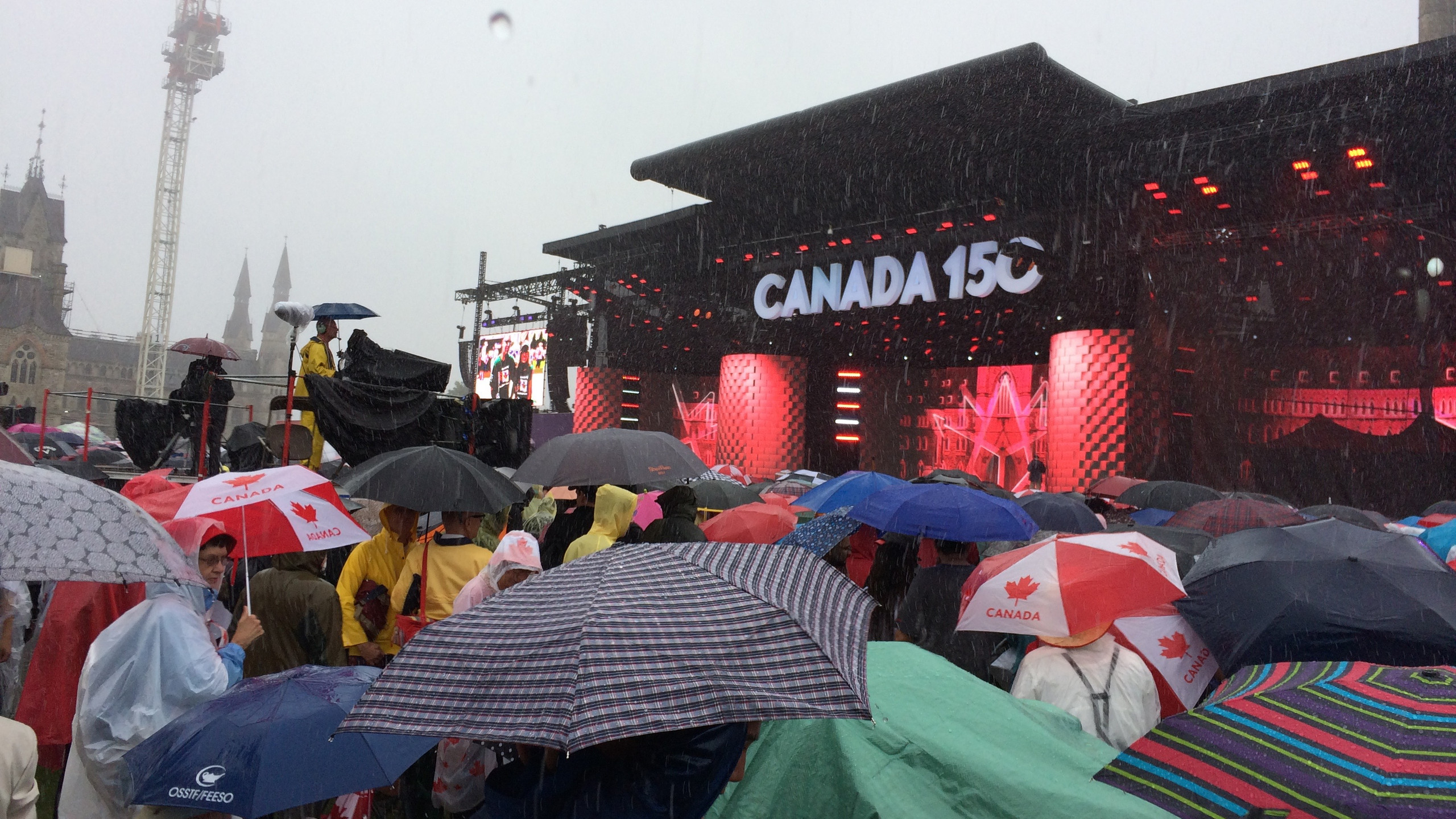 Concerts in the Rain