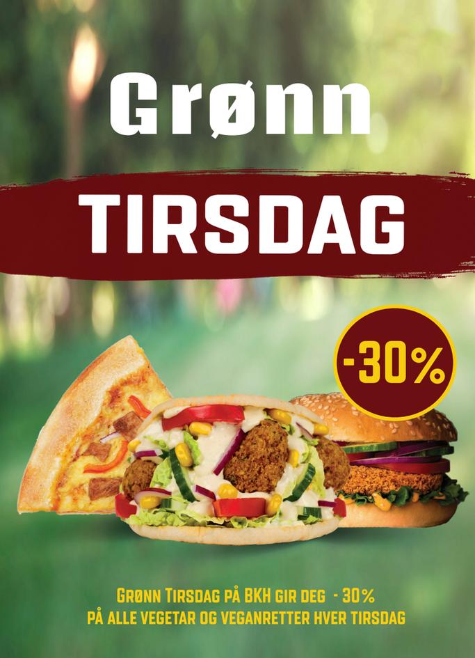 Grønn Tirsdag 30%