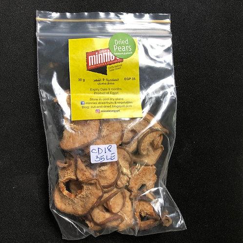 Minnies Dried Fruit: Pear