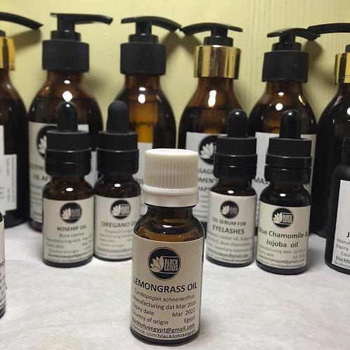 Essential oil: Lemongrass