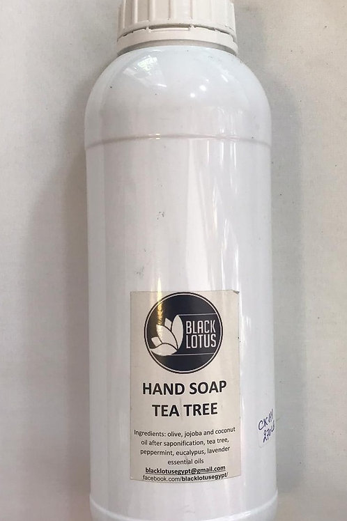 Hand care: Tea Tree Soap 1 litre