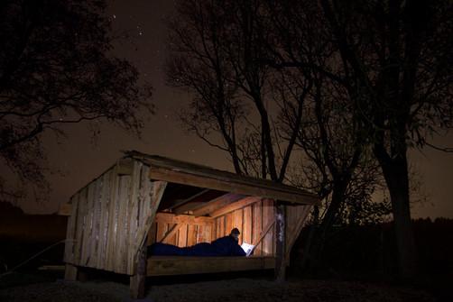 Shelter at night