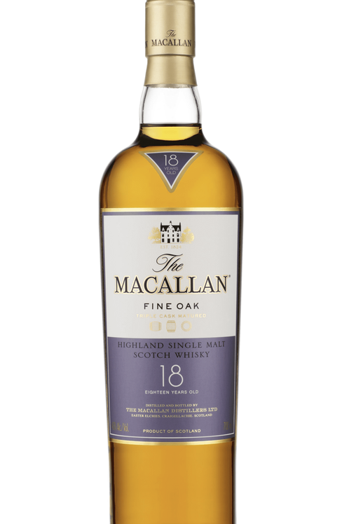 Whisky Macallan 18 años Fine Oak.