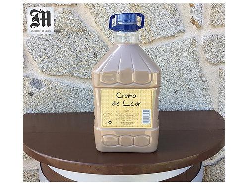 Garrafa 3 L. Crema de Orujo Tipo Artesano (Casera)