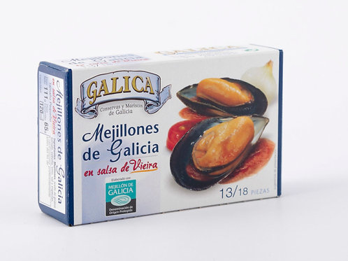 Mejillones en Salsa de Viera Galica 13/18